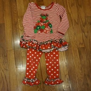 Bonnie Jean 3T Christmas outfit